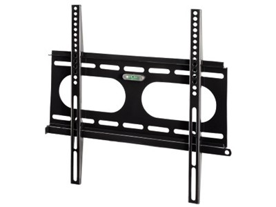 "Hama ""Next Light"" LCD/PL/LED Wall Bracket, VESA 400x400, fixed, black Sort"