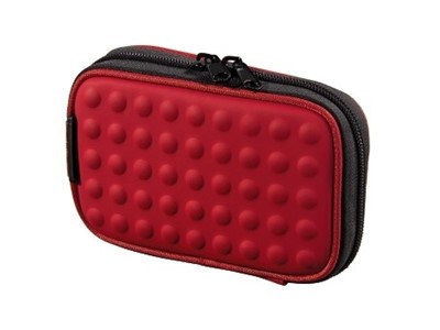 "Hama NaviBag ""Dots"", red PVC Rød"