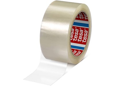 Tape - emballage, 50 mmx66 m, 1 rulle, Transparent, Tesa 4024