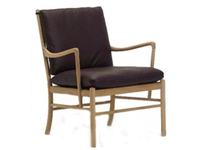 Carl Hansen Colonial chair OW 149 Loungestol