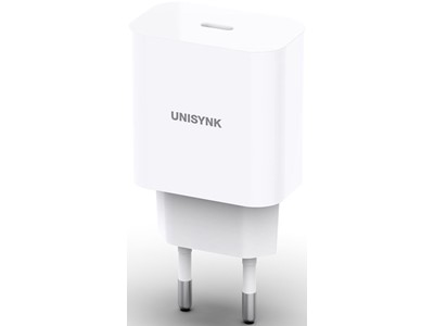 Unisynk USB-C PD oplader 20W