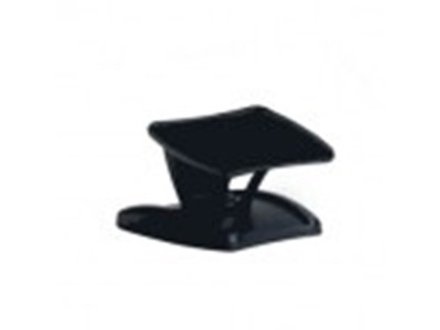 "Datalogic Black 3"" Riser Stand w/ Tilt Adjustment and Fixed Mounting Holes Sort"