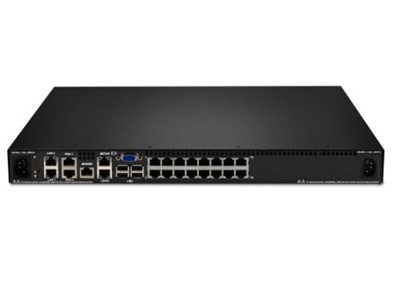 Lenovo 1754D1X KVM Switch Stativ-montering Sort