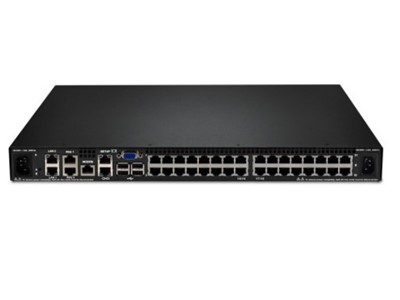 Lenovo 1754D2X KVM Switch Stativ-montering Sort