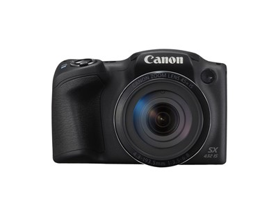 "Canon PowerShot SX430 IS 1/2.3"" Brokamera 20,5 MP CCD 5152 x 3864 pixel Sort"