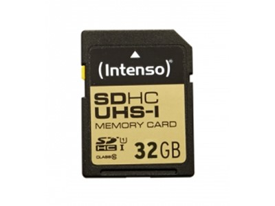 Intenso 32GB SDHC 32GB SDHC UHS Class 10 flash-hukommelse
