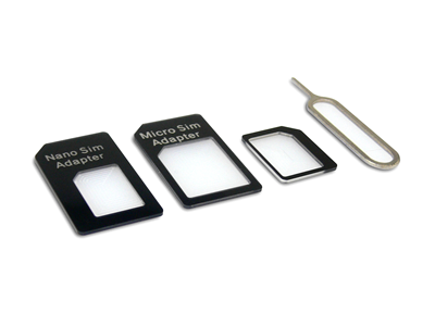 SIM Adapter Kit 4in1