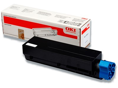 Toner, B411-B431, Black-sort, 3.000 sider, OKI 44574702