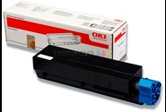 Toner, MB472-492-562, Black-sort, 7.000 sider, OKI 45807106