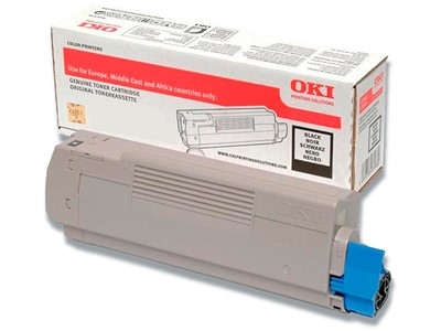 Toner, C332-MC363, Black-sort, 3.500 sider, OKI 46508712