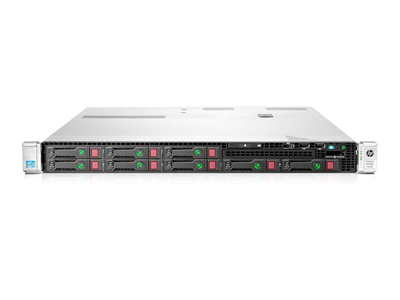 Hewlett Packard Enterprise ProLiant DL360p Gen8 server Intel® Xeon® E5 Family 2,4 GHz 16 GB DDR3-SDRAM Stativ (1U) 460 W