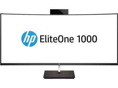 "HP EliteOne 1000 G2 86,4 cm (34"") 3440 x 1440 pixel 8th gen Intel® Core™ i5 8 GB DDR4-SDRAM 256 GB SSD Sort All-in-One PC Windows 10 Pro"