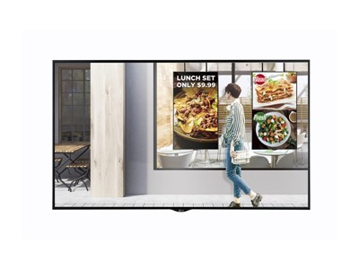 "LG 55XS2E-B Digital signage flat panel 55"" LCD Full HD Sort skilte display"