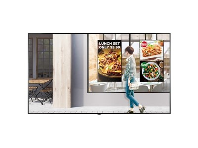 "LG 75XS2E-B skilte display 190,5 cm (75"") LED 4K Ultra HD Digital fladpaneldisplay Sort"