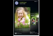 Fotopapir, A4, 200 g, 100 ark, HP Everyday Glossy