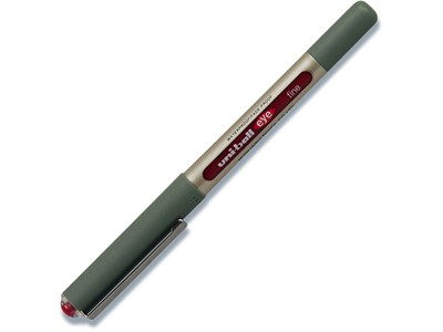 Rollerpen, 0.7 mm, 0.3 mm, Rød, uni-ball Eye Fine UB-157