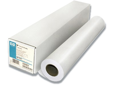 HP Plotterpapir Bright white A1 594mm x 45,7m 90gr.