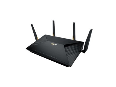 ASUS BRT-AC828 trådløs router Dual-band (2,4 GHz / 5 GHz) Gigabit Ethernet 3G 4G Sort