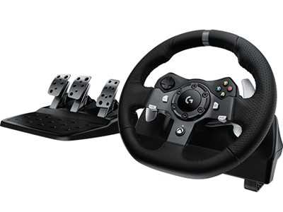 Logitech G920 Rat + Pedaler Xbox One USB 2.0 Sort
