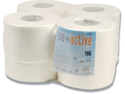 Toiletpapir Mini Bio Active 2lg. 12rl/pk