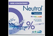 Vaskepulver Neutral 831gr. Color vask