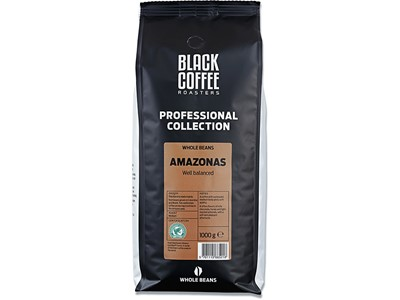 Kaffe, Hele bønner, 1000 g, 1 pose, BKI Black Coffee Roasters Amazona Rainforest
