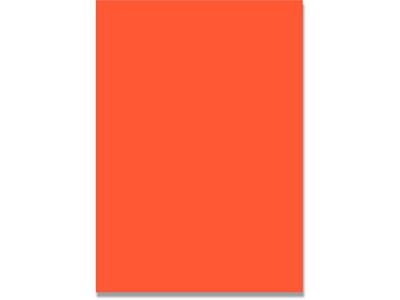Karton, 50x70 cm, Orange, 1 ark, BNT Folia 300 g/m²