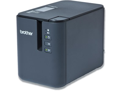 Labelprinter, Skrivebord, Til PC, Mac, smartphone, tablet, kabel, WiFi, TZe-tape 3.5-36 mm - HG-tape, Brother P-Touch PT-P950NW
