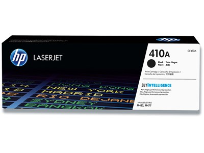 Toner, 410A, Black-sort, 2.300 sider, HP CF410A