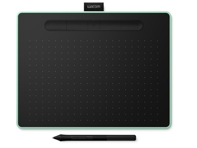 Wacom Intuos M Bluetooth tegneplade Sort, Grøn 2540 lpi 216 x 135 mm USB/Bluetooth