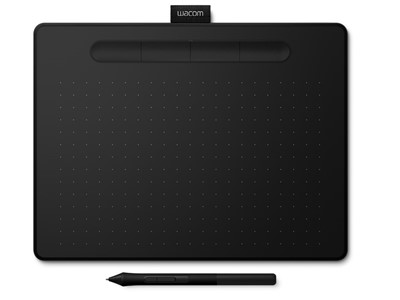 Wacom Intuos M Bluetooth tegneplade Sort 2540 lpi 216 x 135 mm USB/Bluetooth