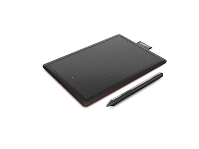 Wacom One by Medium tegneplade Sort 2540 lpi 216 x 135 mm USB
