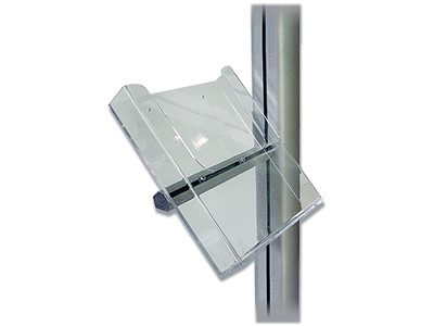 Brochureholder, A4, 22.5 x 25 x 4 cm, Transparent, DSI Multi Stand Acrylic Holder 960