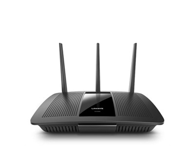 Linksys AC1900 trådløs router Dual-band (2,4 GHz / 5 GHz) Gigabit Ethernet Sort