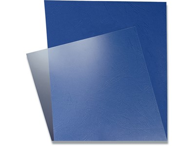 Indbindings for- og bagsider, Plast, A4, Transparent, Leitz