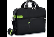 Computertaske, 18 lommer, 15'' Laptops Notebooks, Sort, Leitz Complete Smart Traveller