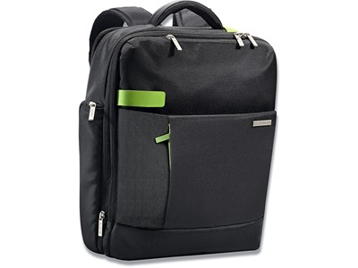Rygsæk, 20 lommer, 15'' Laptops Notebooks, Sort, Leitz Complete Smart Traveller