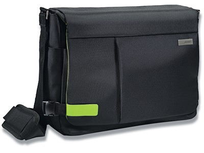 Computertaske, 19 lommer, 2 rum, 15.6'' Laptops Notebooks, Leitz Complete Smart Traveller
