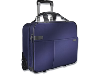 Trolley, 17 lommer, 15.6'' Laptops Notebooks, Titan blå, Leitz Complete Smart Traveller