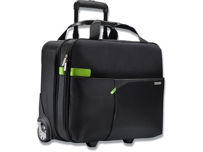 Trolley, 17 lommer, 15.6'' Laptops Notebooks, Sort, Leitz Complete Smart Traveller