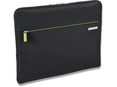 Sleeve, 13.3'' Laptops Notebooks, Polyester, Sort, Leitz Complete Smart Traveller