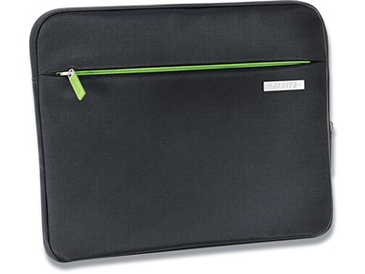 Sleeve, 10'' Tablet, Polyester, Sort, Leitz Complete