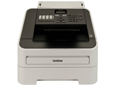 Brother FAX-2840 Laser 33.6Kbit/s A4 Sort, Grå fax maskine