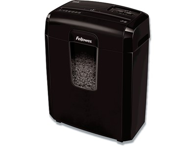 Makuleringsmaskine, Kryds, 8 ark, P4, Fellowes Powershred 8Mc