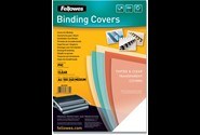 Indbindings for- og bagsider, Transparent, A4, Plast, Fellowes Clear