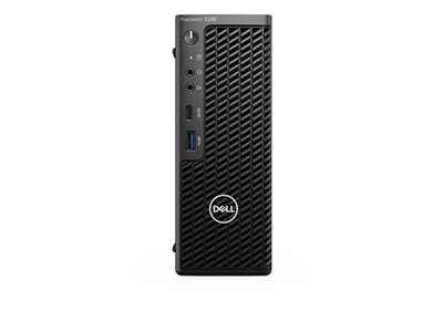 DELL Precision 3240 W-1250 CFF Intel® Xeon W 16 GB DDR4-SDRAM 512 GB SSD Windows 10 Pro Workstation Sort