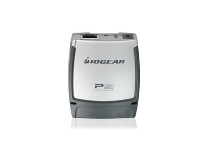 iogear USB 2.0 Print Server, 1-Port printserver Ethernet LAN