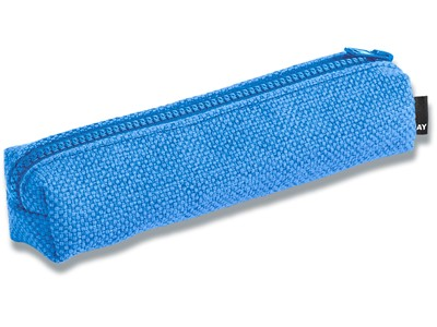 Hue Pencil Case, 80% Recycled Polyester/20% Polyester, Blue