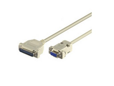 Microconnect 2m 9-pin/25-pin