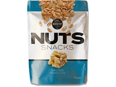 Nuts Snacks saltede blå 75g.